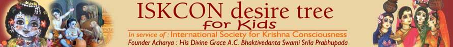 Kids - ISKCON desire tree